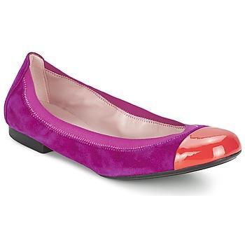 Cipők Női Balerina cipők / babák Pretty Ballerinas HONEY Lila
