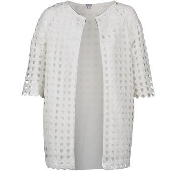 Ruhák Női Kabátok Brigitte Bardot BB44197 Fehér