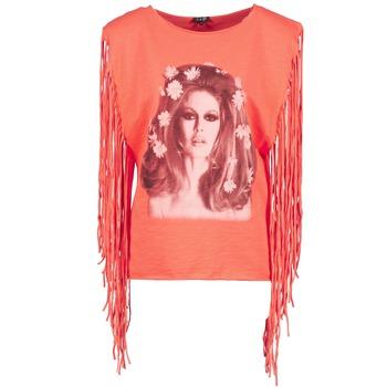 Ruhák Női Trikók / Ujjatlan pólók Brigitte Bardot BB44075 Korall