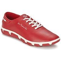Cipők Női Rövid szárú edzőcipők TBS JAZARU Piros