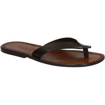Cipők Férfi Lábujjközös papucsok Gianluca - L'artigiano Del Cuoio 541 U MORO CUOIO Testa di Moro