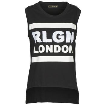 Ruhák Női Trikók / Ujjatlan pólók Religion B123RGT41 Fekete