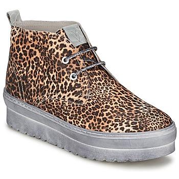 Cipők Női Magas szárú edzőcipők Ylati BAIA F Leopárd