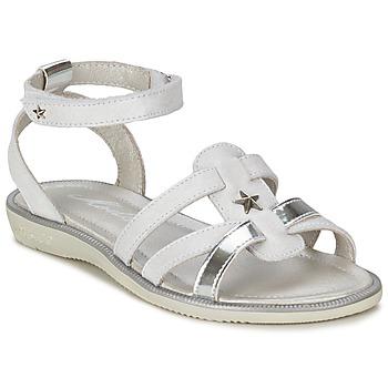 Cipők Lány Szandálok / Saruk Mod'8 HOPAL Fehér