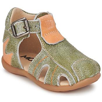 Cipők Fiú Szandálok / Saruk Mod'8 ALUCINE Zöld / Narancssárga