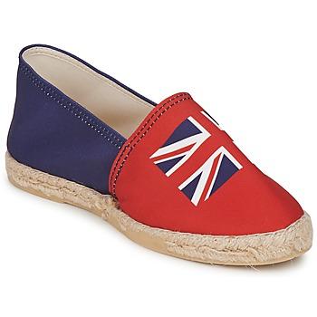 Cipők Női Gyékény talpú cipők Be Only KATE Piros-kék