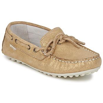 Cipők Lány Mokkaszínek Garvalin KIOWA JUVENIL Arany