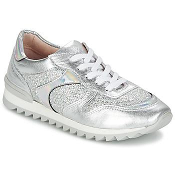 Cipők Női Rövid szárú edzőcipők Unisa DALTON Ezüst / Fehér