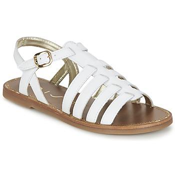 Cipők Női Szandálok / Saruk Unisa YOLETA Fehér