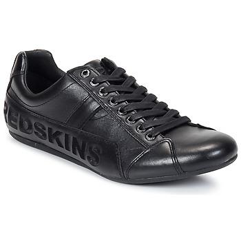 Shoes Férfi Rövid szárú edzőcipők Redskins TONIKO Fekete