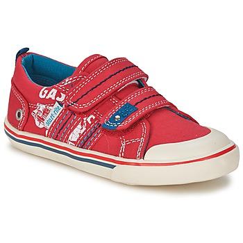 Cipők Fiú Rövid szárú edzőcipők Start Rite GASOLINE Piros