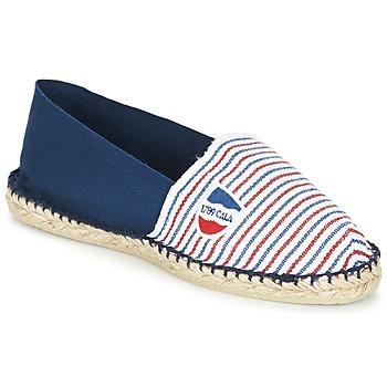 Cipők Gyékény talpú cipők 1789 Cala CLASSIQUE BICOLORE Kék / Fehér / Piros