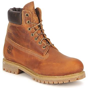 Shoes Férfi Csizmák Timberland HERITAGE 6 IN PREMIUM Barna