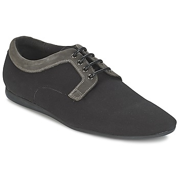 Cipők Férfi Oxford cipők Schmoove FIDJI CLUB Fekete  / Szürke