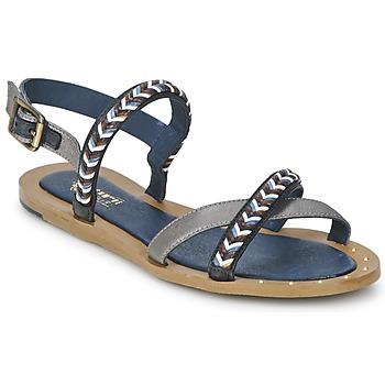 Shoes Női Szandálok / Saruk Schmoove MEMORY LINK Ezüst / Tengerész