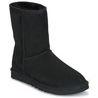 Cipők Női Csizmák UGG CLASSIC SHORT Fekete