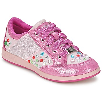 Cipők Lány Rövid szárú edzőcipők Lelli Kelly GLITTER-ROSE-CALIFORNIA Rózsaszín
