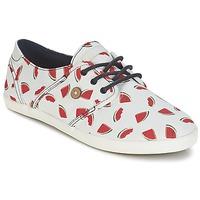 Cipők Női Rövid szárú edzőcipők Faguo CYPRESS Fehér / Piros
