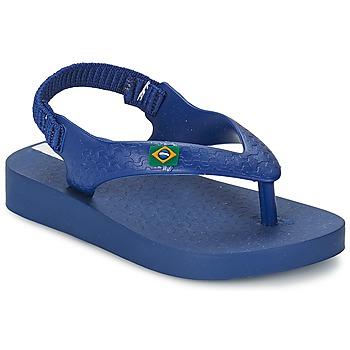 Cipők Gyerek Szandálok / Saruk Ipanema CLASSICA BRASIL BABY Kék