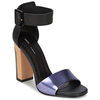 Shoes Női Szandálok / Saruk Miista LILY Fekete  / Levendula