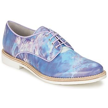 Cipők Női Oxford cipők Miista ZOE Kék
