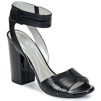 Cipők Női Szandálok / Saruk Geox NOLINA Fekete