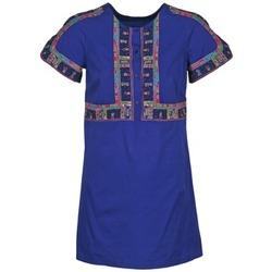 Ruhák Női Rövid ruhák Antik Batik EMILIE Tengerész