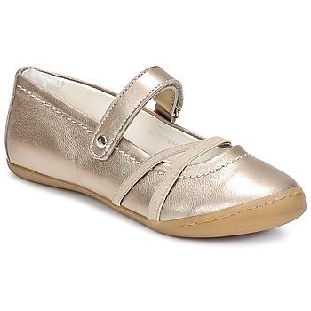 Cipők Lány Balerina cipők / babák Primigi LISBONA 1-E Bronz