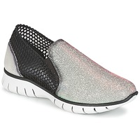 Cipők Női Rövid szárú edzőcipők Felmini ARJEMISE Ezüst / Fekete