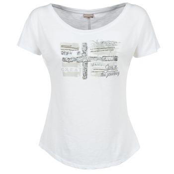 material Női Rövid ujjú pólók Napapijri SINK Fehér