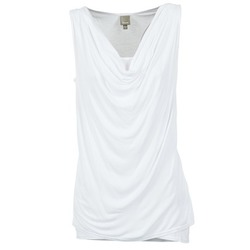 Ruhák Női Trikók / Ujjatlan pólók Bench DUPLE Fehér