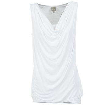 material Női Trikók / Ujjatlan pólók Bench DUPLE Fehér