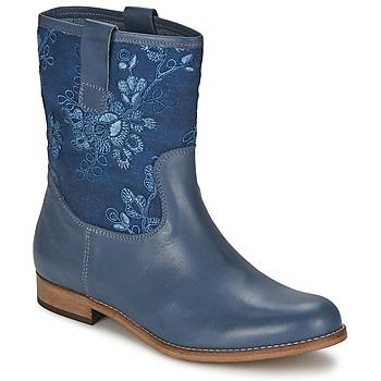 Cipők Női Csizmák Alba Moda FALINA Kék