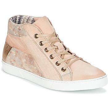 Cipők Női Rövid szárú edzőcipők Dream in Green MOLIMELA Bézs / Rózsaszín