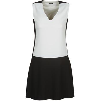 Ruhák Női Rövid ruhák Joseph DORIA Fekete  / Fehér