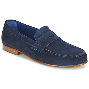 Cipők Férfi Mokkaszínek Azzaro GOURIAN Tengerész
