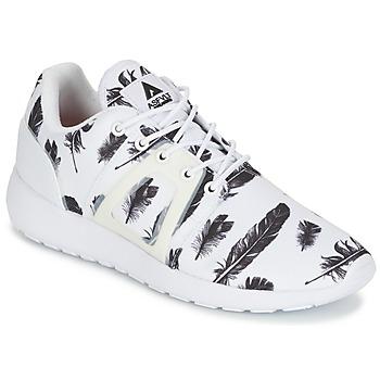 Cipők Rövid szárú edzőcipők Asfvlt SUPERTECH Fehér / Fekete