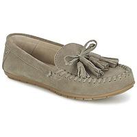 Cipők Női Mokkaszínek Esprit SIRA LOAFER Keki / Tiszta