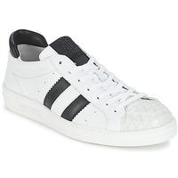 Cipők Női Rövid szárú edzőcipők Bikkembergs BOUNCE 594 LEATHER Fehér / Fekete