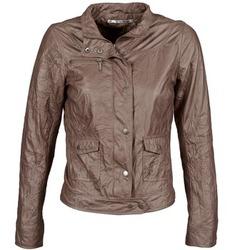 Ruhák Női Bőrkabátok / műbőr kabátok DDP GIRUP Barna