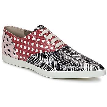 Cipők Női Oxford cipők Marc Jacobs Elap Fekete  / Fehér / Piros