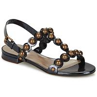 Cipők Női Szandálok / Saruk Marc Jacobs Vegetal Fekete