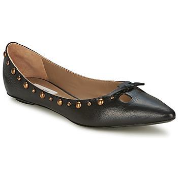 Cipők Női Balerina cipők / babák Marc Jacobs Capra Fekete