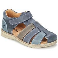 Shoes Fiú Szandálok / Saruk Citrouille et Compagnie ZIDOU Tengerész / Szürke