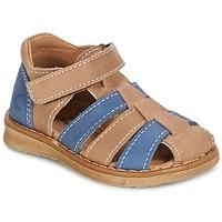 Shoes Fiú Szandálok / Saruk Citrouille et Compagnie FRINOUI Barna / Kék