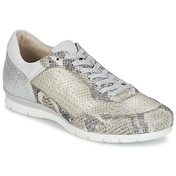 Cipők Női Rövid szárú edzőcipők Mjus FORCE Kígyó / Ezüst