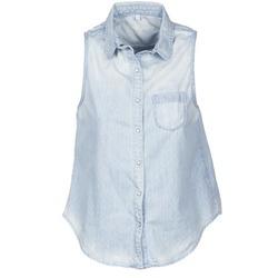 Ruhák Női Rövid ujjú ingek Pepe jeans POCHI Kék