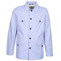 Ruhák Férfi Parka kabátok Aigle STONEFISH Kék