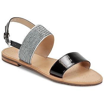 Cipők Női Szandálok / Saruk Geox SOZY A Fekete