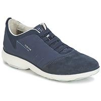 Shoes Női Rövid szárú edzőcipők Geox NEBULA C Tengerész